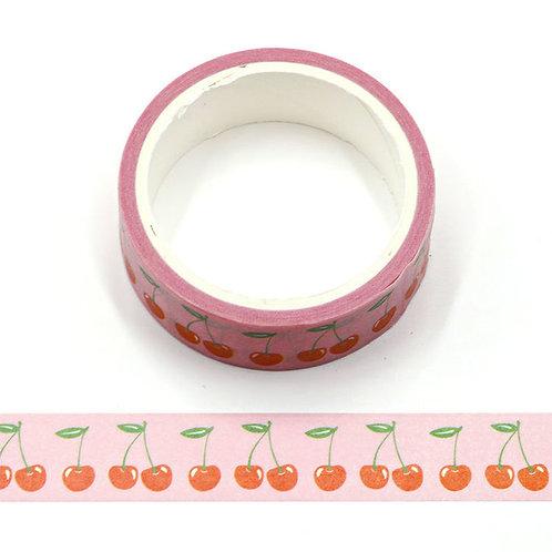 Masking tape cerises 15mm x  5m