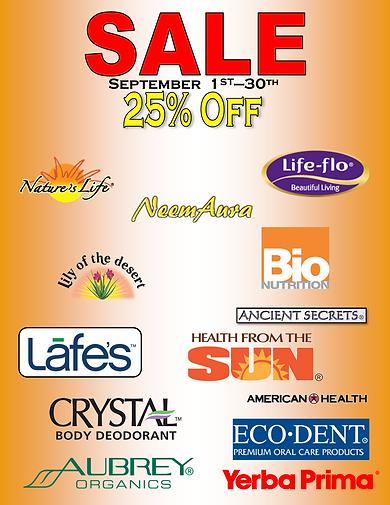 September 2020 Supplements Sale Sign.png