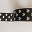 Thumbnail: W302 - Masking tape Noir coeurs blancs