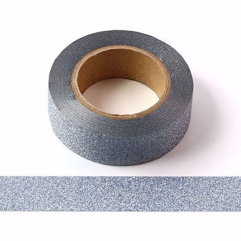 Masking tape paillettes bleu clair 15 mm x10m