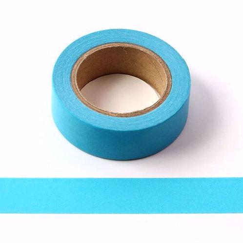 W085 -  Masking tape 15mm uni  bleu