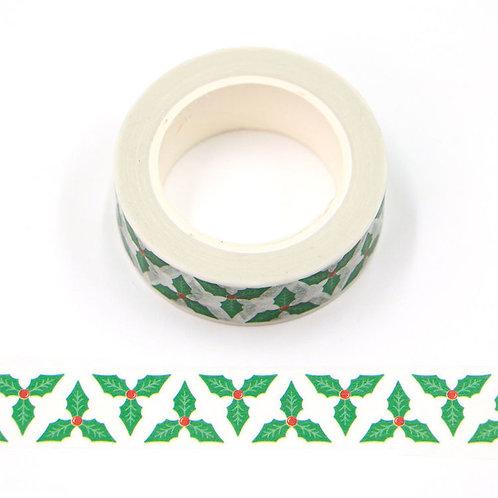 Masking tape 15 mm motif houx