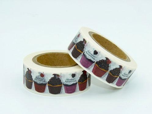 W142 - Masking tape muffins