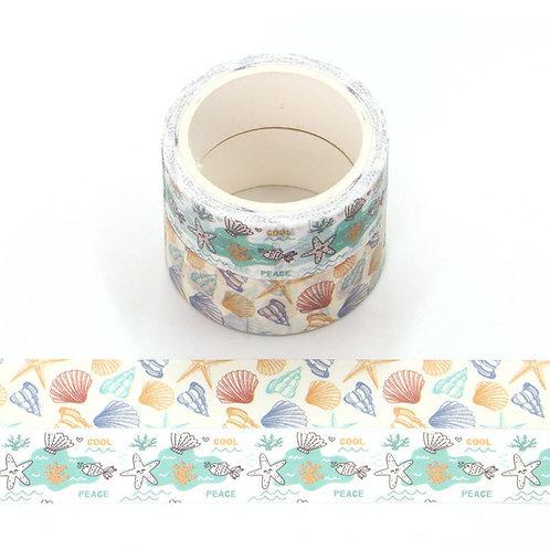 P003 - 2 Masking tape 5m parfumés odeur océan