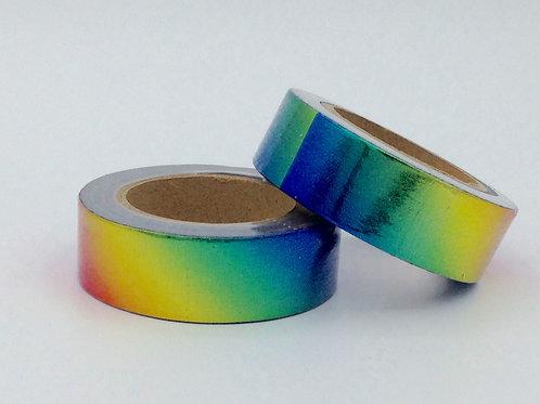 F074- Masking tape foil arc en ciel