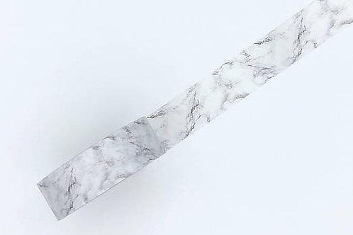 W371-  Masking tape marbre noir blanc gris MARBLE washi tape