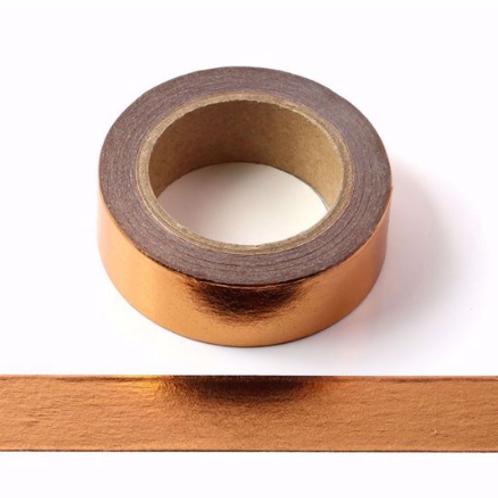 F030 - Masking tape métallique 15mm foil cuivre