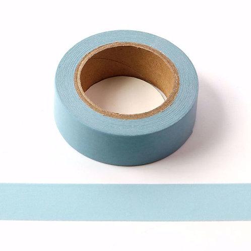 Masking tape 15 mm bleu clair