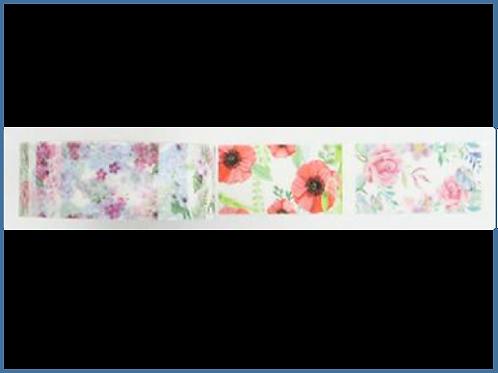 W352 - Masking tape planner fleurs