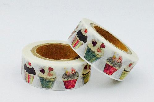 W297 - Masking tape cupcakes