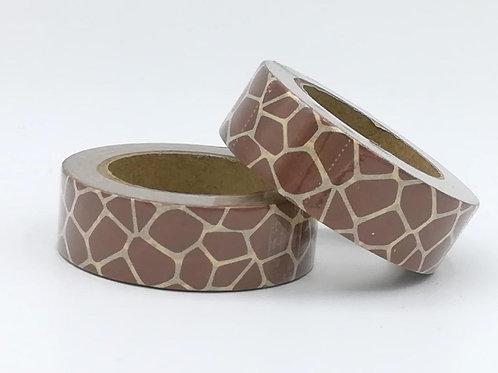 W390-  Masking tape girafe I girafe pattern  washi tape