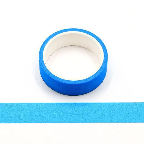 Masking tape bleu uni 15mm x 5m