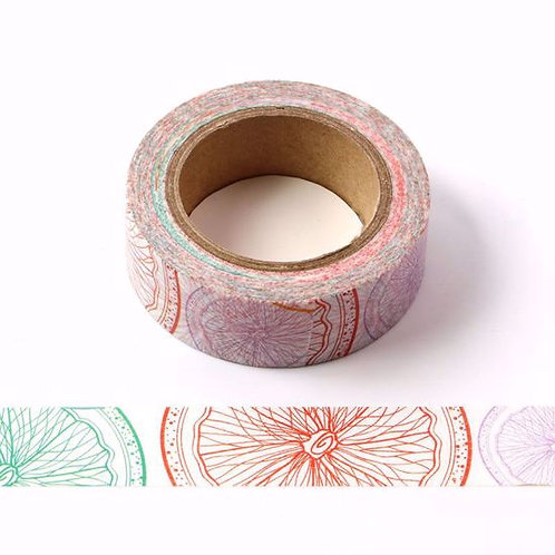 Masking tape tranches agrumes