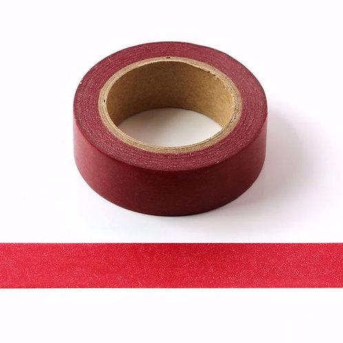 W087 - Masking tape 15mm uni rouge