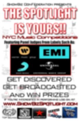 Spotlight Music Showcase Flyer-side 1.pn