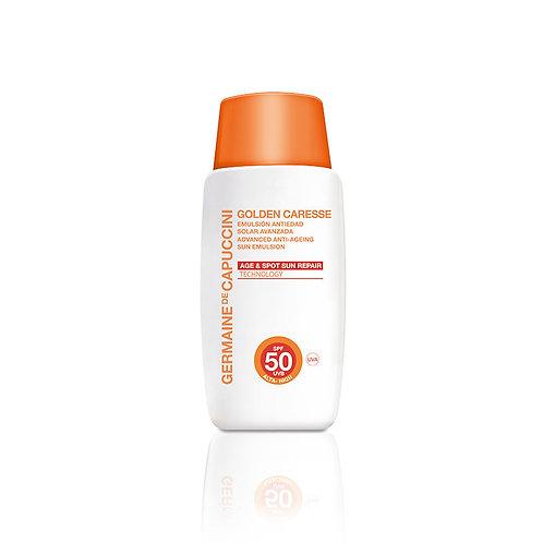Golden Caresse Advanced Anti-Ageing  Sun Emulsion SPF 50