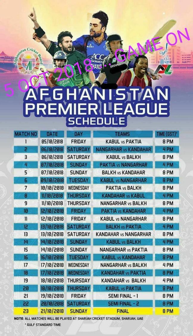 Afghanistan League - DABAKR KAMAO...DIWALI SE PHLE DIWALI MNAO