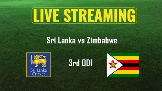 SL VS ZIM 3RD ONE DAY.