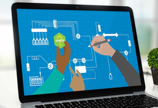 IDEX Health & Science QuickStart Sensors Video // Illustration and Storyboard // V2Works