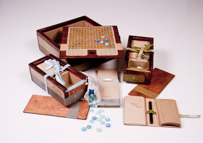 Scrabble Set // Designer // CSUF Student