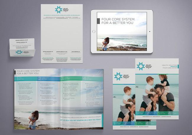 Relief Medical Group Collateral