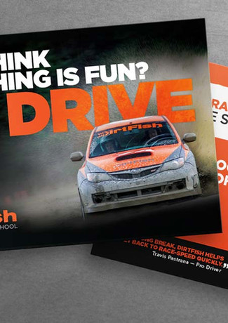 Dirtfish Postcard Series