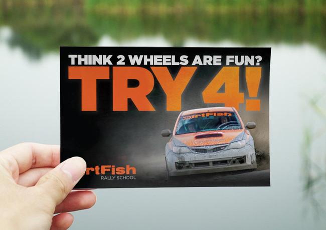 DirtFish Postcard Series