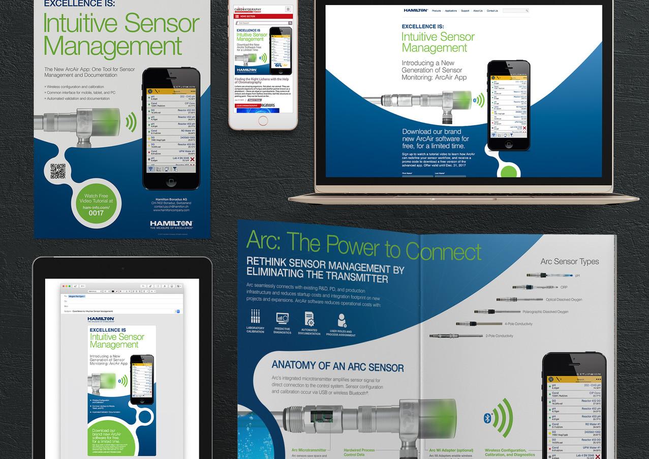 Hamilton ArcAir Branding and Marketing Assets