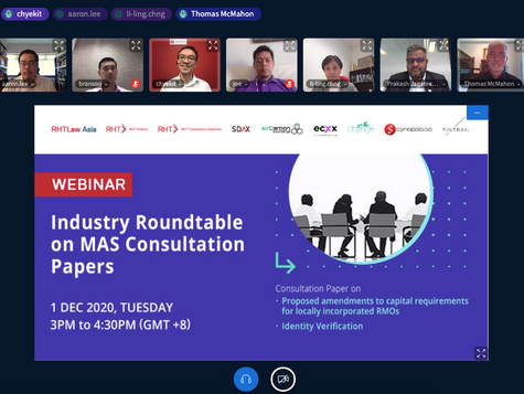 Concluding the Industry Roundtable on MAS Consultation Papers - Identity Verification