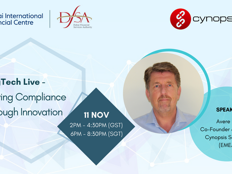 Join us at the upcoming webinar: RegTech Live - Driving Compliance Through Innovation