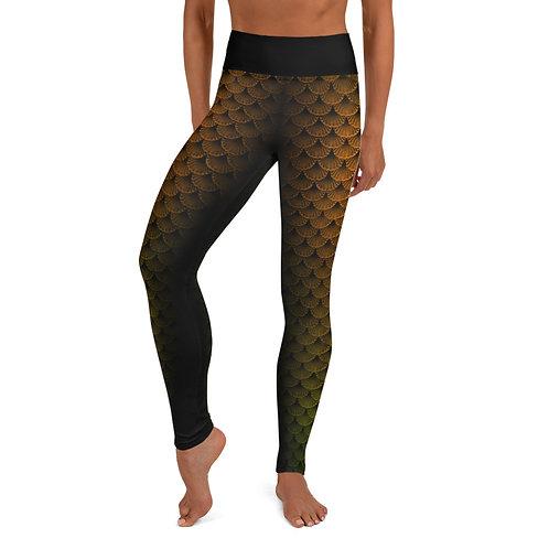 Modern Moonsong green leggings