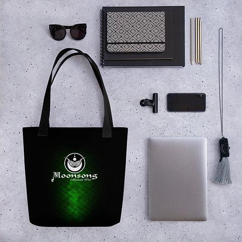Tote bag green