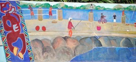 Ōpōtiki Mural Project - one of 30 Murals