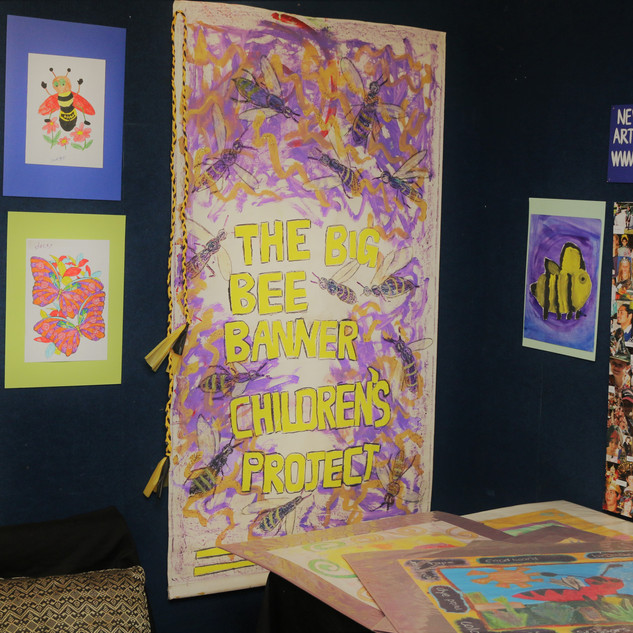The Big Bee Banner Children's Project - 2017