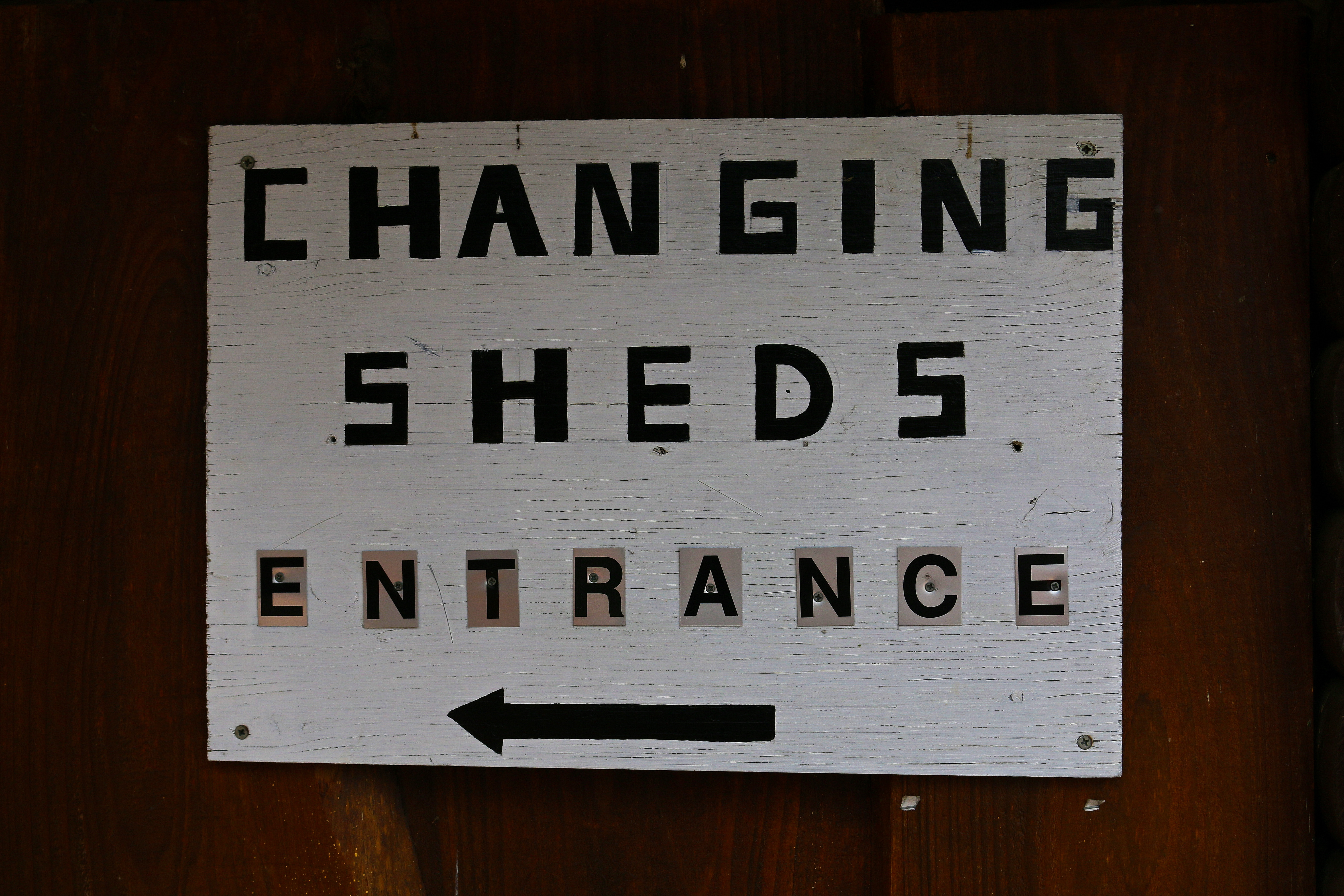 The Rustic Changing Sheds