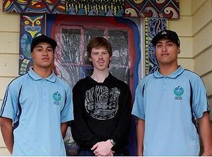 James. Jared and Wairangi