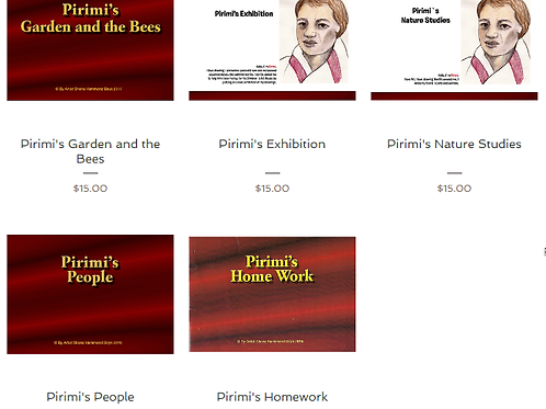 Pirimi's World - The 5 book collection
