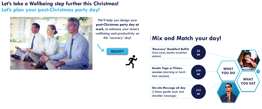Christmas Wellbeing 2017, Mind It Ltd, Wellbeing workshops, wellbeing webinars, wellbeing training, wellbeing consultancy, Leeds, England