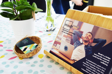 Leeds Wellbeing Week 2017 - Find Happiness in the Workplace event - copyright Mind It Ltd