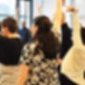 Movement Based Workshop - Workplace Wellbein - Leeds Yorkshire - copyright Mind It UK