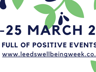Upcoming Leeds Wellbeing Week – What to expect?