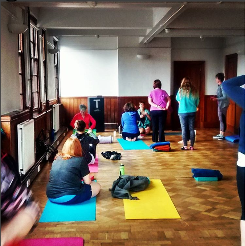 Yoga at the Museum, The Tetley, Lucyoga, Leeds, Mind It Ltd, Wellbeing workshops, wellbeing webinars, wellbeing training, wellbeing consultancy, Leeds, England