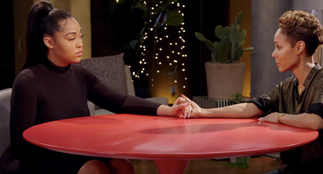 JORDYN WOODS MADE HER WAY OVER TO RED TABLE TALK TO TALK ABOUT THE ALLEGED CHEATING SCANDAL!