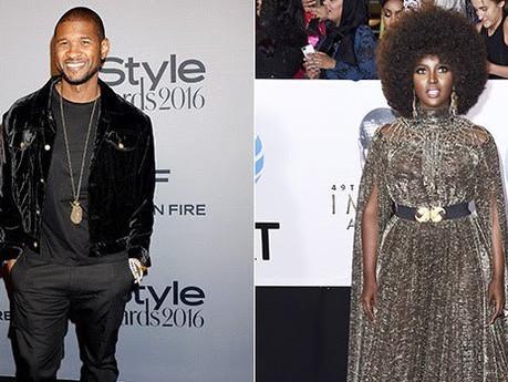 Usher's new boo?