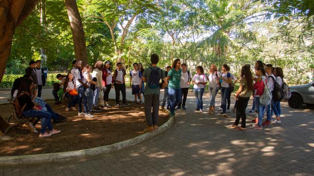 Continuidade do Projeto de Clubes de Observação da Natureza nas escolas, realizado pelo Instituto Úl
