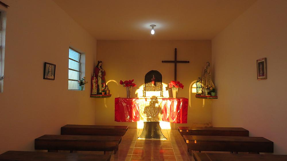 Igreja na Ilha de Santa Barbara