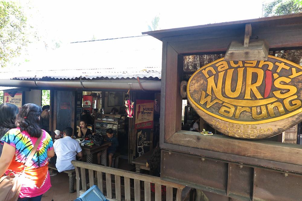 Naughty Nuris restaurant