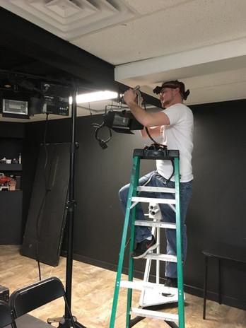 Lighting in Studio