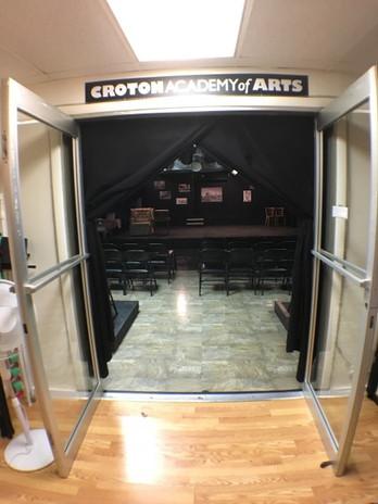 Lobby into the venue