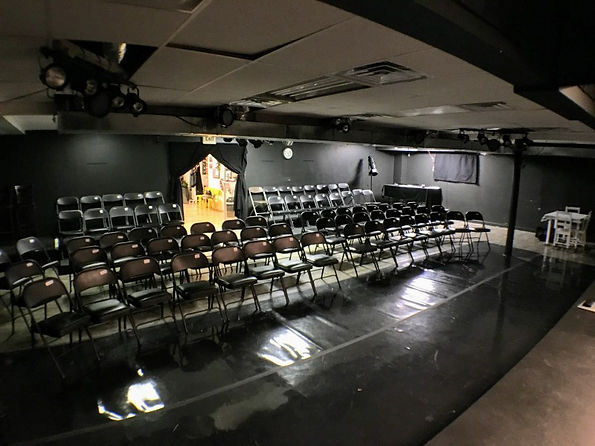 View of the seating from the stage